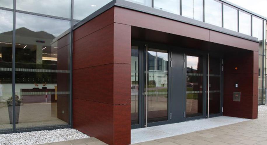 длина фото примеров оформления офисного входа в здание является